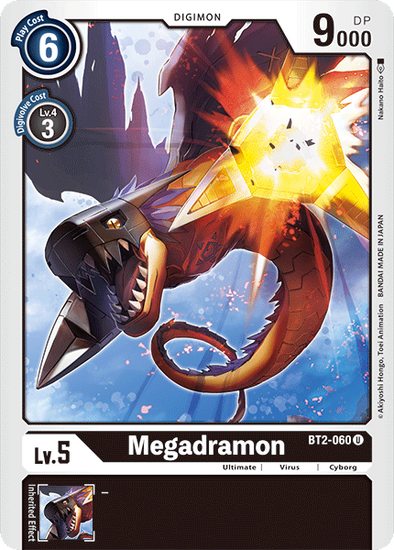 Megadramon (BT2-060) available at 401 Games Canada