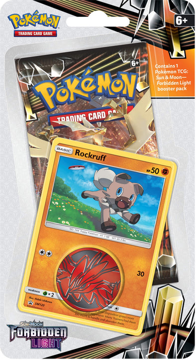 Buy Pokemon - Forbidden Light Check Lane Blisters - Rockruff and more Great Pokemon Products at 401 Games