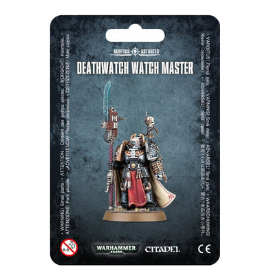 Buy Warhammer 40,000 - Deathwatch - Deathwatch Watch Master and more Great Games Workshop Products at 401 Games