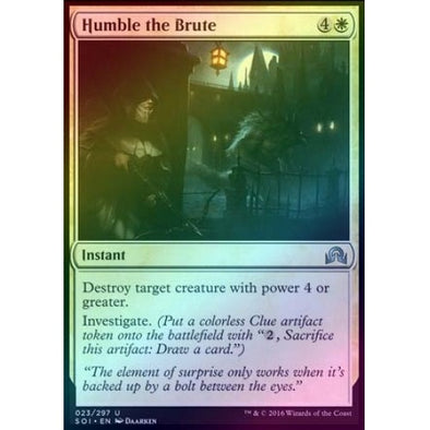 Humble the Brute (Foil)