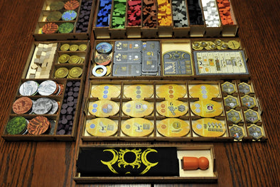 Buy Meeple Realty - Terra Mystica - Box Insert and more Great Inserts and Overlays Products at 401 Games