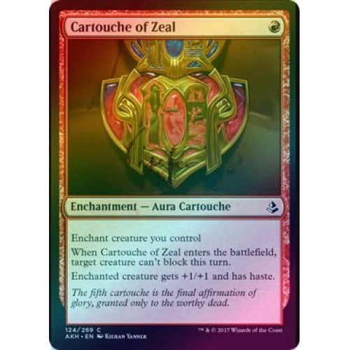 Cartouche of Zeal (Foil) (AKH) available at 401 Games Canada