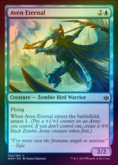 Aven Eternal (Foil) (WAR)
