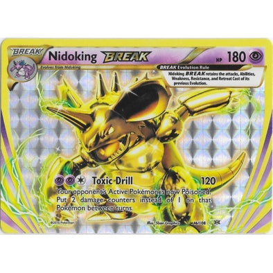Buy Nidoking BREAK - 46/108 and more Great Pokemon Products at 401 Games