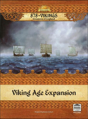 Buy 878: Vikings - Invasions of England: Viking Age Expansion and more Great Board Games Products at 401 Games