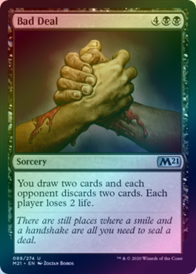 Bad Deal (FOIL) (M21) (Pre-Order: 2020-07-03) - 401 Games