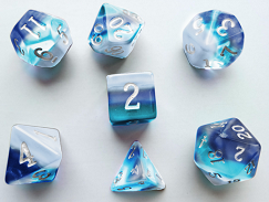 Buy Little Dragon - Birthstone Dice - Zircon (December) and more Great Dice Products at 401 Games