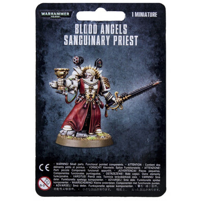 Warhammer 40,000 - Blood Angels - Sanguinary Priest available at 401 Games Canada