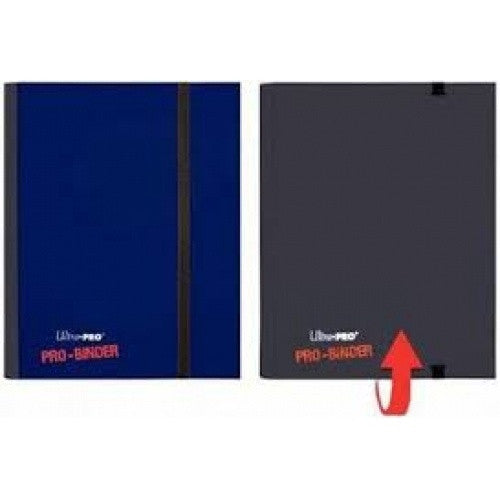 Buy Ultra Pro - Pro Binder 4 Pocket - Blue and Black and more Great Sleeves & Supplies Products at 401 Games