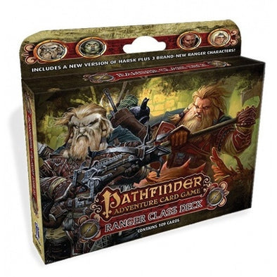 Buy Pathfinder Adventure Card Game - Ranger Class Deck and more Great Board Games Products at 401 Games
