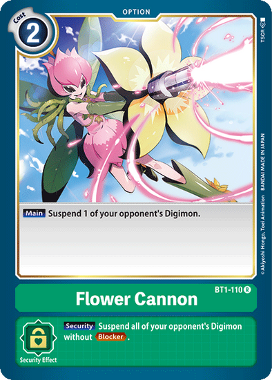 Flower Cannon (BT1-110) available at 401 Games Canada
