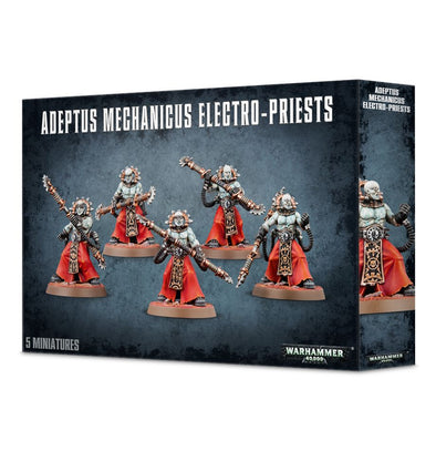 Buy Warhammer 40,000 - Adeptus Mechanicus - Adeptus Mechanicus Electro-Priests and more Great Games Workshop Products at 401 Games