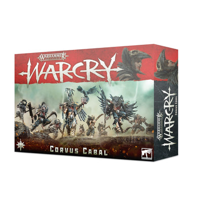 Warhammer - Age of Sigmar - Warcry - Corvus Cabal