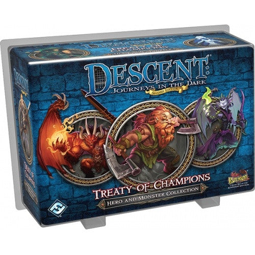 Descent - 2nd Edition - Treaty of Champions - 401 Games