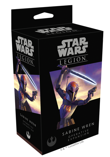 Star Wars - Legion - Rebel - Sabine Wren Operative Expansion - 401 Games
