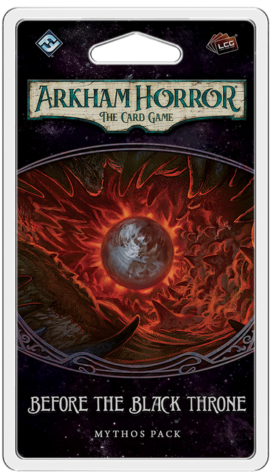 Buy Arkham Horror - The Card Game - Before the Black Throne (Pre-Order) and more Great Board Games Products at 401 Games