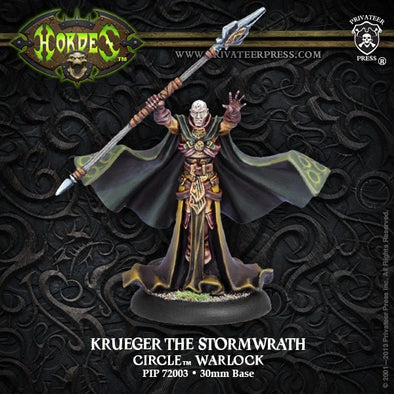 Hordes - Circle Orboros - Krueger the Stormwrath - 401 Games