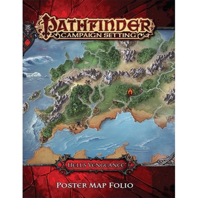 Buy Pathfinder - Campaign Setting - Hell's Vengeance Poster Map Folio and more Great RPG Products at 401 Games