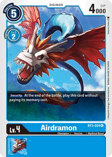 Airdramon (BT3-024) available at 401 Games Canada