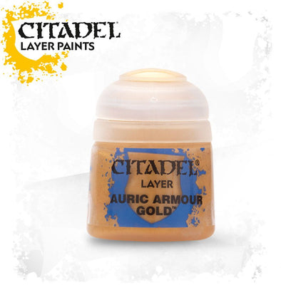 Buy Citadel Layer - Auric Armour Gold and more Great Games Workshop Products at 401 Games