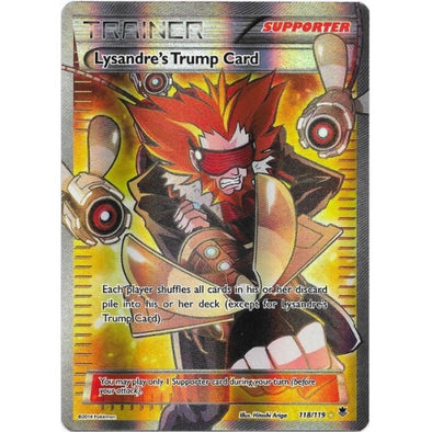 Lysandre's Trump Card - 118/119 - Full Art (PHF118) available at 401 Games Canada