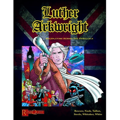 Buy RuneQuest - Luther Arkwright and more Great RPG Products at 401 Games