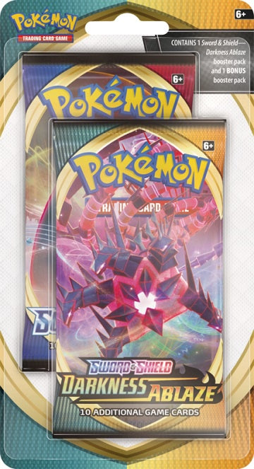 Pokemon - Darkness Ablaze Bonus Pack Blister available at 401 Games Canada