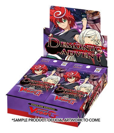 Buy Cardfight!! Vanguard - VGE-G-BT11 - Demonic Advent Booster Box and more Great Cardfight!! Vanguard Products at 401 Games
