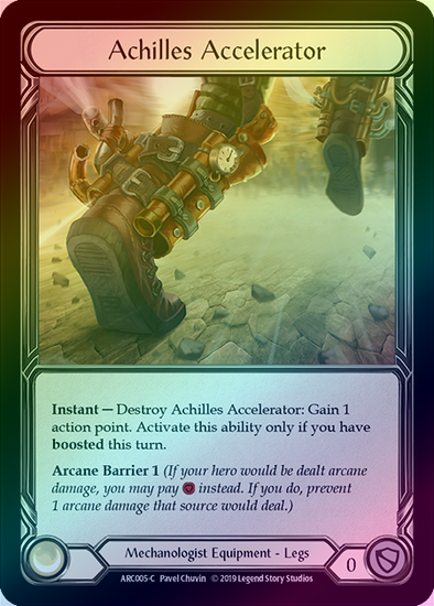 Achilles Accelerator (ARC005) - Rainbow available at 401 Games Canada