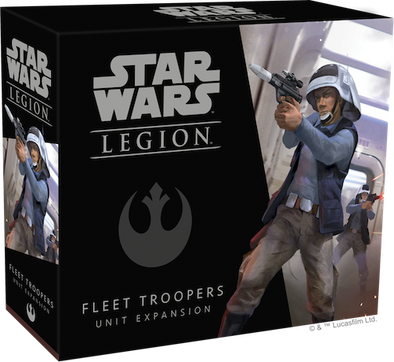 Buy Star Wars - Legion - Rebel - Fleet Troopers Unit and more Great Tabletop Wargames Products at 401 Games