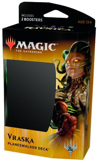 Buy MTG - Guilds of Ravnica - Planeswalker Deck - Vraska and more Great Magic: The Gathering Products at 401 Games