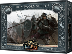 A Song of Ice and Fire - Tabletop Miniatures Game - House Stark - Tully Sworn Shields - 401 Games