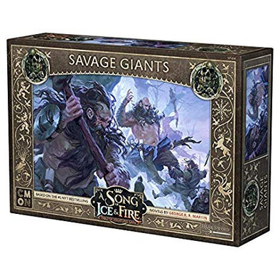 A Song of Ice and Fire - Tabletop Miniatures Game - Free Folk - Savage Giants available at 401 Games Canada