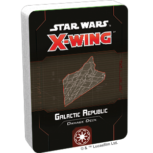 Star Wars: X-Wing - Second Edition - Galactic Republic Damage Deck (Pre-Order)