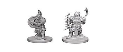 Buy Pathfinder Deep Cuts Unpainted Minis: Dwarf Male Barbarian and more Great RPG Products at 401 Games