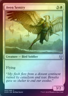 Aven Sentry (Foil) (DOM) available at 401 Games Canada