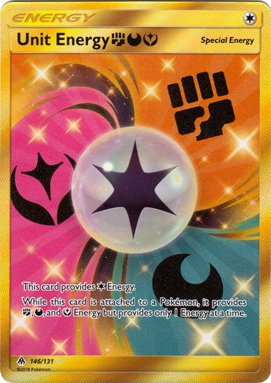 Buy Unit Energy FDY - 146/131 - Secret Rare and more Great Pokemon Products at 401 Games