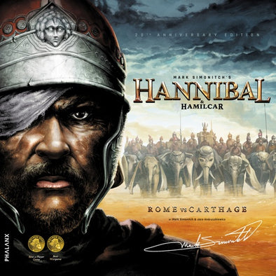 Hannibal & Hamilcar: Rome vs Carthage (Restock Pre-Order) available at 401 Games Canada