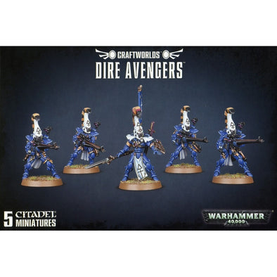 Buy Warhammer 40,000 - Craftworlds - Dire Avengers and more Great Games Workshop Products at 401 Games