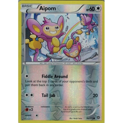 Buy Aipom - 90/114 - Reverse Foil and more Great Pokemon Products at 401 Games