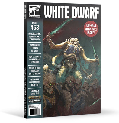 White Dwarf - Issue 453 - April 2020 available at 401 Games Canada