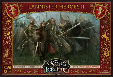Buy A Song of Ice and Fire - Tabletop Miniatures Game - House Lannister - Lannister Heroes 2 and more Great Tabletop Wargames Products at 401 Games