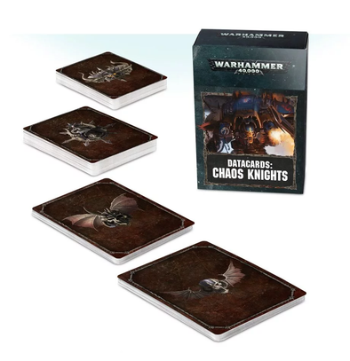 Warhammer 40,000 - Datacards: Chaos Knights - 8th Edition available at 401 Games Canada