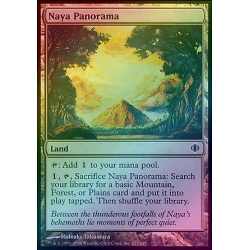 Naya Panorama (Foil) (ALA) available at 401 Games Canada