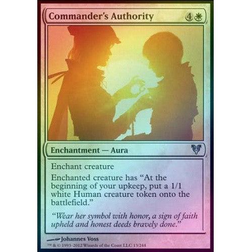 Commander's Authority (Foil) (AVR) available at 401 Games Canada