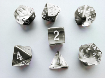 Buy Little Dragon - Birthstone Dice - Diamond (April) and more Great Dice Products at 401 Games