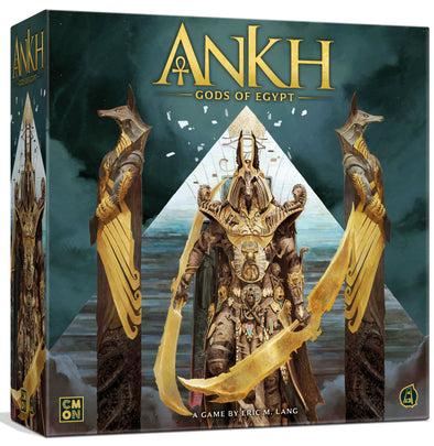 Ankh - Gods of Egypt - Kickstarter Faithful Pledge + Applicable Stretch Goals (Pre-Order) available at 401 Games Canada