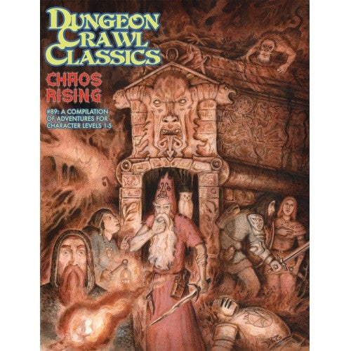 Buy Dungeon Crawl Classics - #89 Chaos Rising and more Great RPG Products at 401 Games