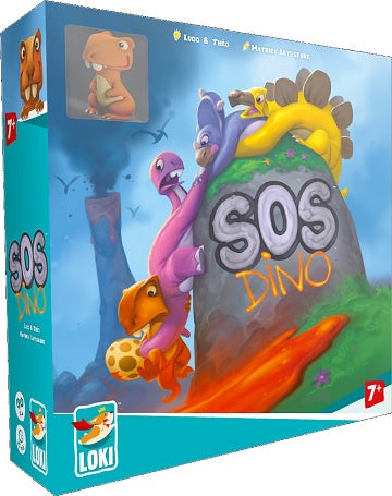 SOS Dino available at 401 Games Canada