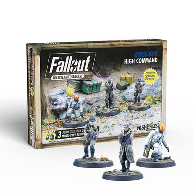 Fallout - Wasteland Warfare - Enclave - High Command - 401 Games
